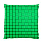 Spring Green Weave Cushion Case (One Side) Front