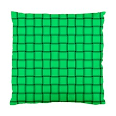 Spring Green Weave Cushion Case (two Sides) by BestCustomGiftsForYou