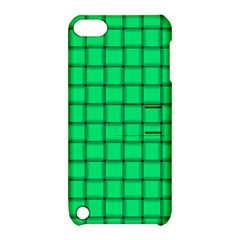 Spring Green Weave Apple Ipod Touch 5 Hardshell Case With Stand by BestCustomGiftsForYou