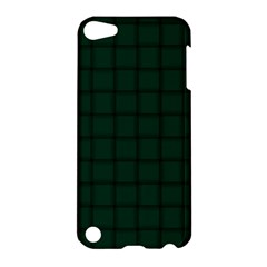 Dark Green Weave Apple Ipod Touch 5 Hardshell Case