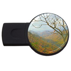 Way Above The Mountains 2gb Usb Flash Drive (round) by Majesticmountain