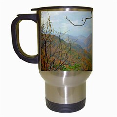 Way Above The Mountains Travel Mug (white) by Majesticmountain