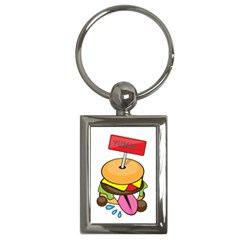 Burgeryumm Key Chain (rectangle)