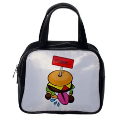 Burgeryumm Classic Handbag (one Side)