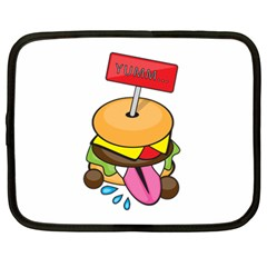 Burgeryumm Netbook Case (xxl) by Walands