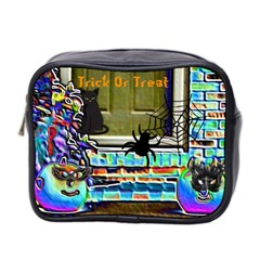 Colored Foil Halloween Mini Travel Toiletry Bag (two Sides)