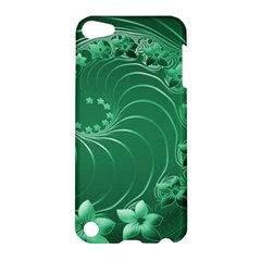 Green Abstract Flowers Apple Ipod Touch 5 Hardshell Case