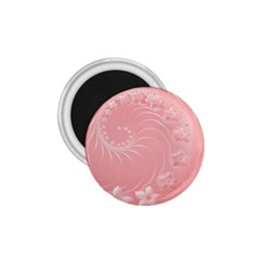 Pink Abstract Flowers 1 75  Button Magnet by BestCustomGiftsForYou