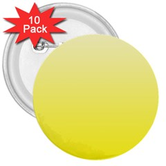 Cream To Cadmium Yellow Gradient 3  Button (10 Pack) by BestCustomGiftsForYou