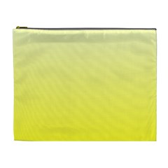 Cream To Cadmium Yellow Gradient Cosmetic Bag (xl) by BestCustomGiftsForYou