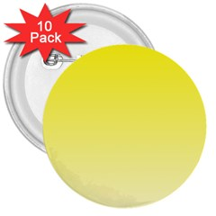 Cadmium Yellow To Cream Gradient 3  Button (10 Pack) by BestCustomGiftsForYou