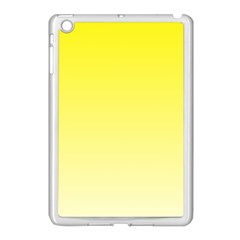 Cadmium Yellow To Cream Gradient Apple Ipad Mini Case (white) by BestCustomGiftsForYou