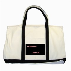 Petchatgirlsrule Two Toned Tote Bag