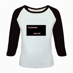Petchatgirlsrule Women s Long Cap Sleeve T Shirt