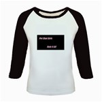 Petchatgirlsrule Women s Long Cap Sleeve T-Shirt Front