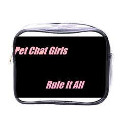 Petchatgirlsrule Mini Travel Toiletry Bag (one Side)