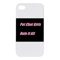 Petchatgirlsrule2 Apple Iphone 4/4s Premium Hardshell Case