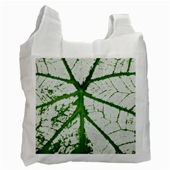 Leaf Patterns Recycle Bag (one Side) by natureinmalaysia