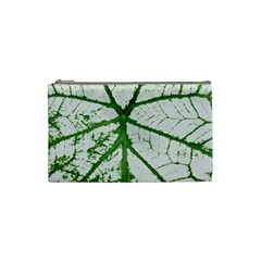 Leaf Patterns Cosmetic Bag (small) by natureinmalaysia