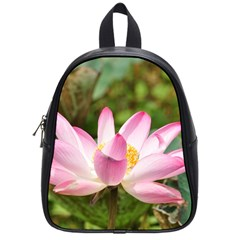 A Pink Lotus School Bag (small) by natureinmalaysia
