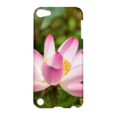 A Pink Lotus Apple Ipod Touch 5 Hardshell Case by natureinmalaysia