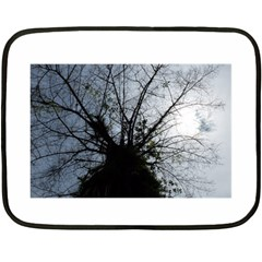 An Old Tree Mini Fleece Blanket (two Sided) by natureinmalaysia