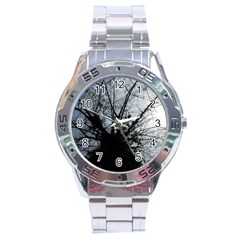An Old Tree Stainless Steel Watch (men s) by natureinmalaysia