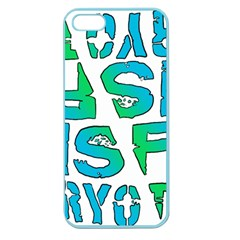 Isf & Ryot Design Apple Seamless Iphone 5 Case (color) by MLWartstore