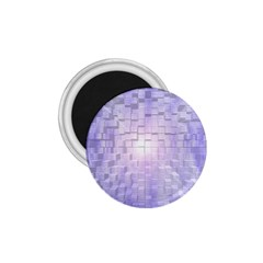 Purple Cubic Typography 1 75  Button Magnet by TheZiNES