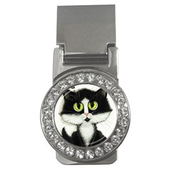 Tuxedo Cat By Bihrle Money Clip (cz)