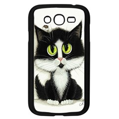Tuxedo Cat By Bihrle Samsung I9082(galaxy Grand Duos)(black)