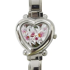 Bloom Cactus  Heart Italian Charm Watch
