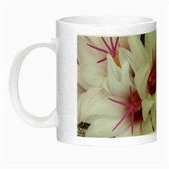 Bloom Cactus  Glow In The Dark Mug by ADIStyle