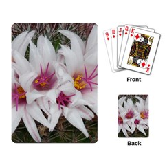 Bloom Cactus  Playing Cards Single Design