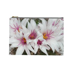 Bloom Cactus  Cosmetic Bag (large) by ADIStyle