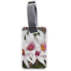 Bloom Cactus  Luggage Tag (one Side) by ADIStyle