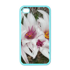 Bloom Cactus  Apple Iphone 4 Case (color) by ADIStyle