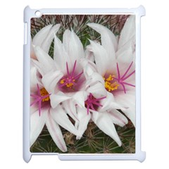 Bloom Cactus  Apple Ipad 2 Case (white) by ADIStyle
