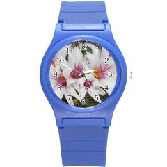 Bloom Cactus  Plastic Sport Watch (small) by ADIStyle