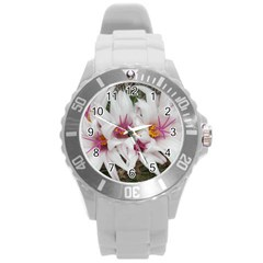 Bloom Cactus  Plastic Sport Watch (large)