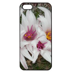 Bloom Cactus  Apple Iphone 5 Seamless Case (black) by ADIStyle