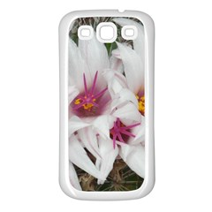 Bloom Cactus  Samsung Galaxy S3 Back Case (white) by ADIStyle
