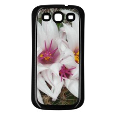 Bloom Cactus  Samsung Galaxy S3 Back Case (black) by ADIStyle
