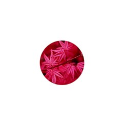 Red Autumn 1  Mini Button Magnet by ADIStyle