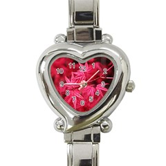 Red Autumn Heart Italian Charm Watch