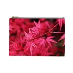 Red Autumn Cosmetic Bag (Large) Front