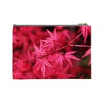 Red Autumn Cosmetic Bag (Large) Back