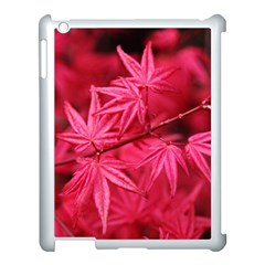 Red Autumn Apple Ipad 3/4 Case (white) by ADIStyle