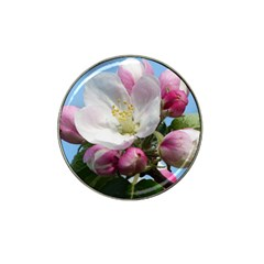 Apple Blossom  Golf Ball Marker (for Hat Clip) by ADIStyle