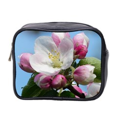 Apple Blossom  Mini Travel Toiletry Bag (two Sides) by ADIStyle